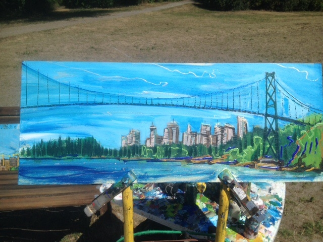 bridgesite-painting