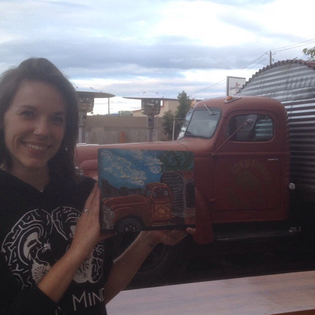 girl-truck-painting