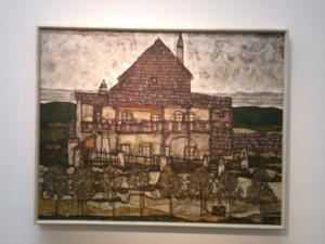 Egon's Urban Landscape painting